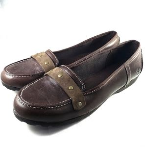 Timberland Slip-on Loafers Brown Size 7W